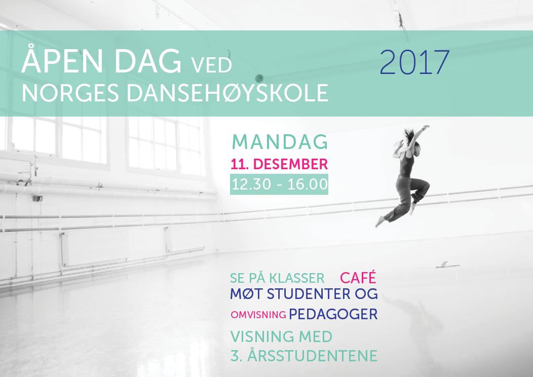 Åpen dag ved Norges dansehøyskole
