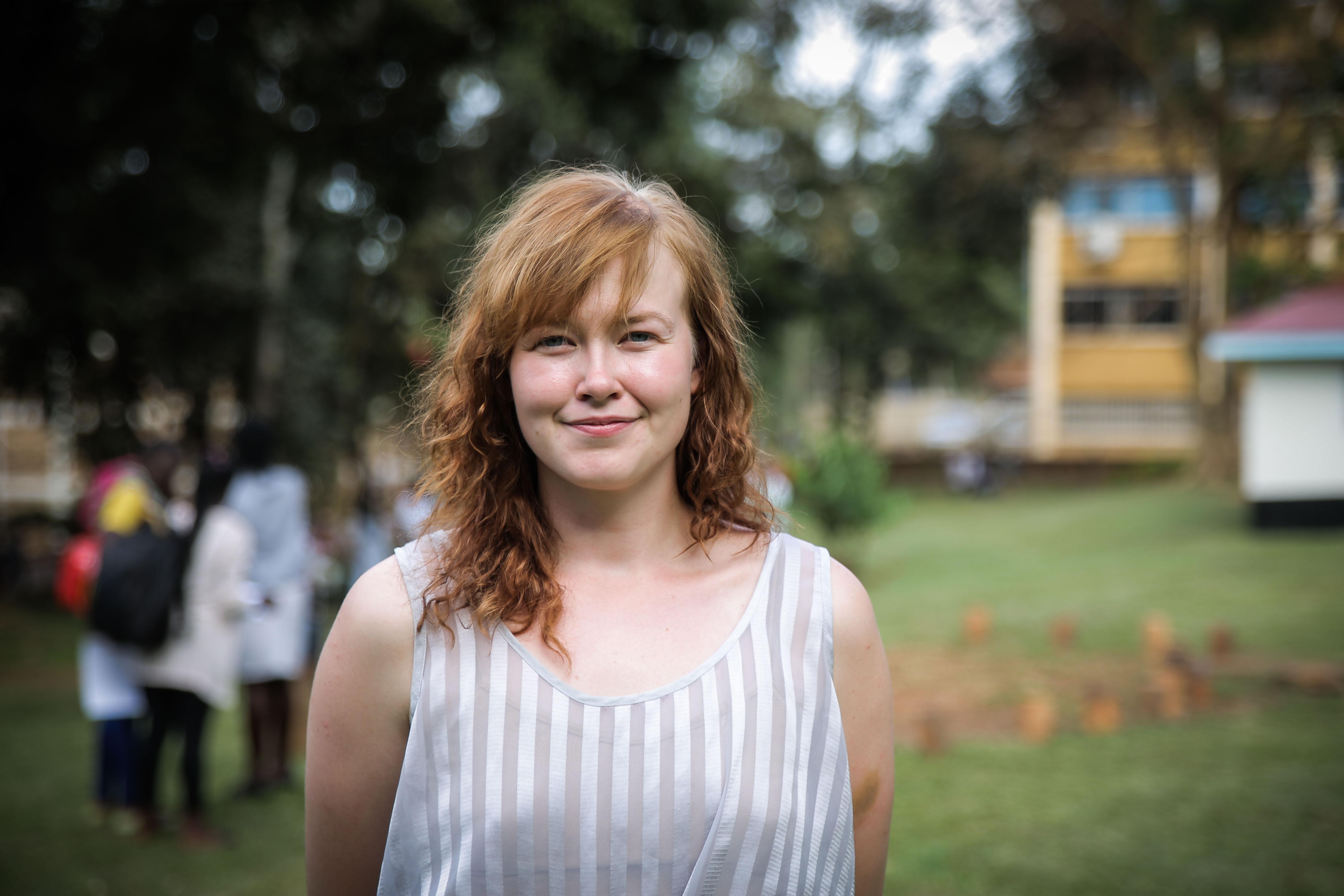 Mette underviser ved Makerere University i Uganda