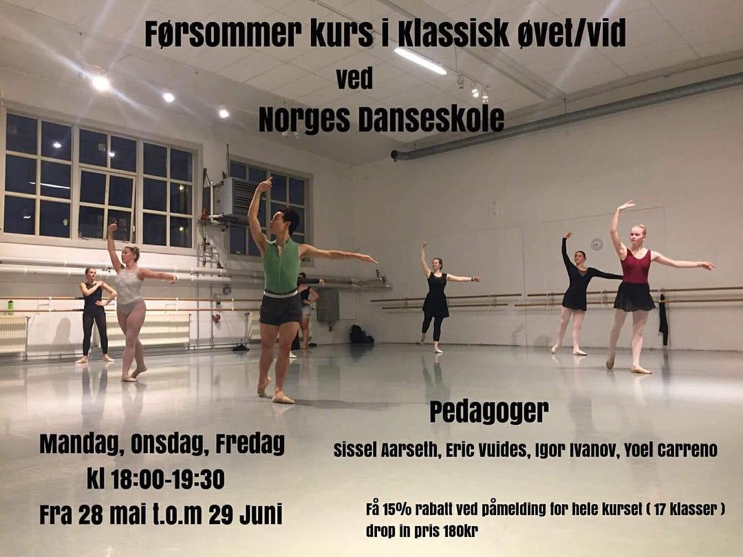 Ekstrakurs i klassisk vid/øvet før sommeren!