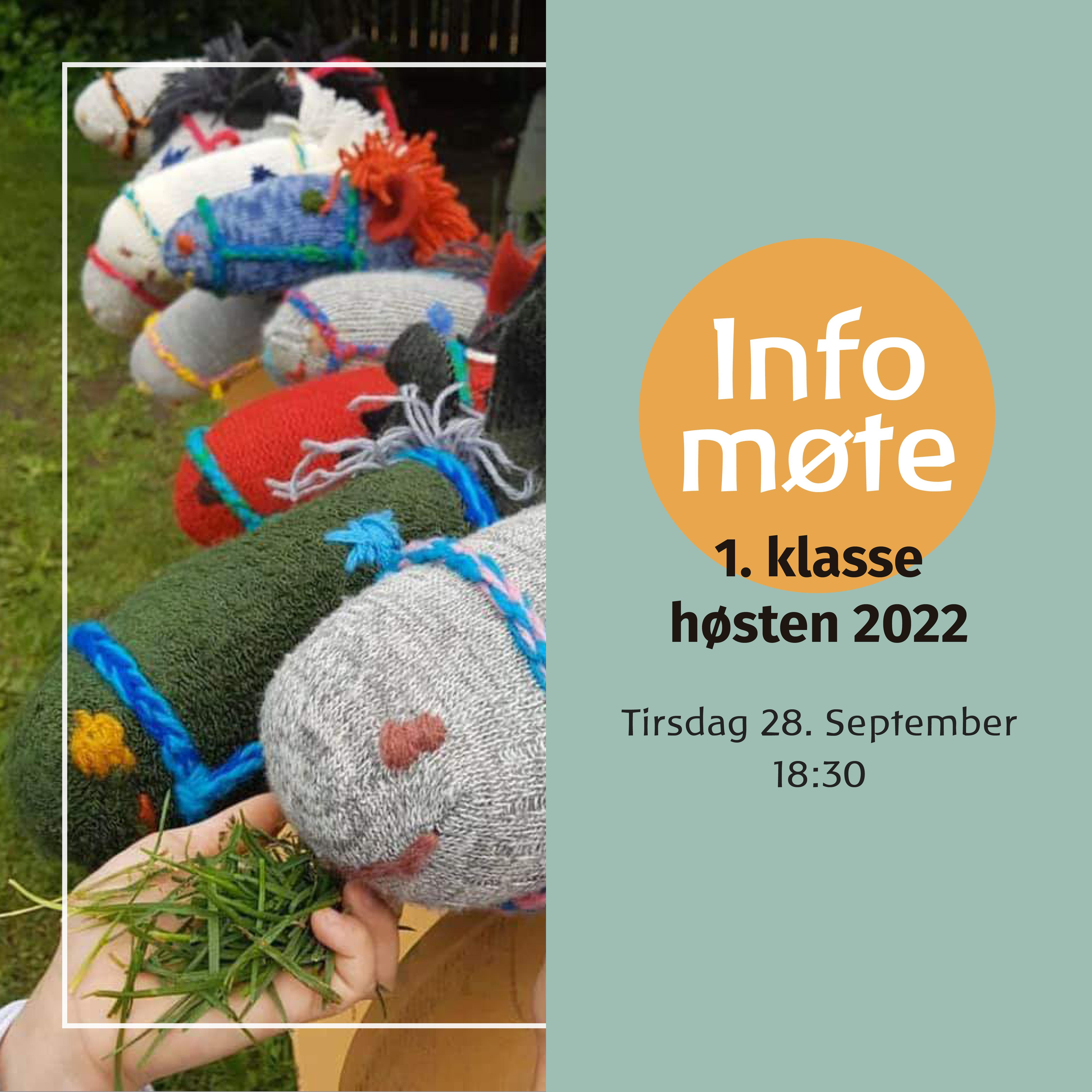Informasjonsmøte for 1. klasse høsten 2022
