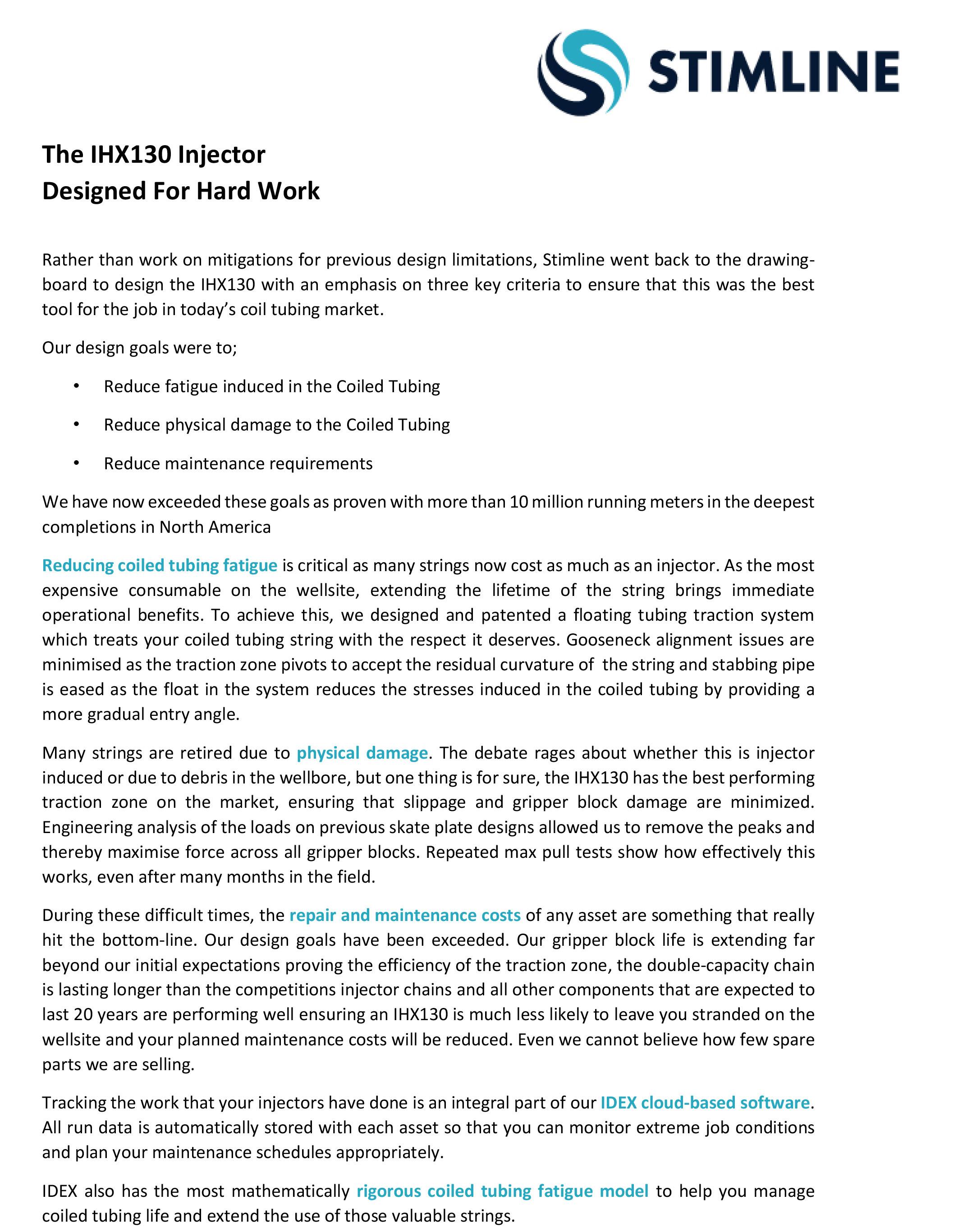 IDEX Case Study