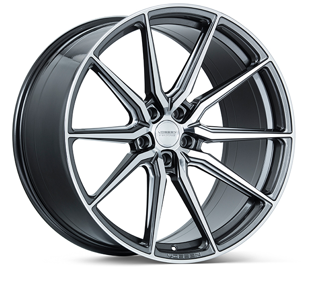 Vossen HF-3 Gloss Graphite Polished