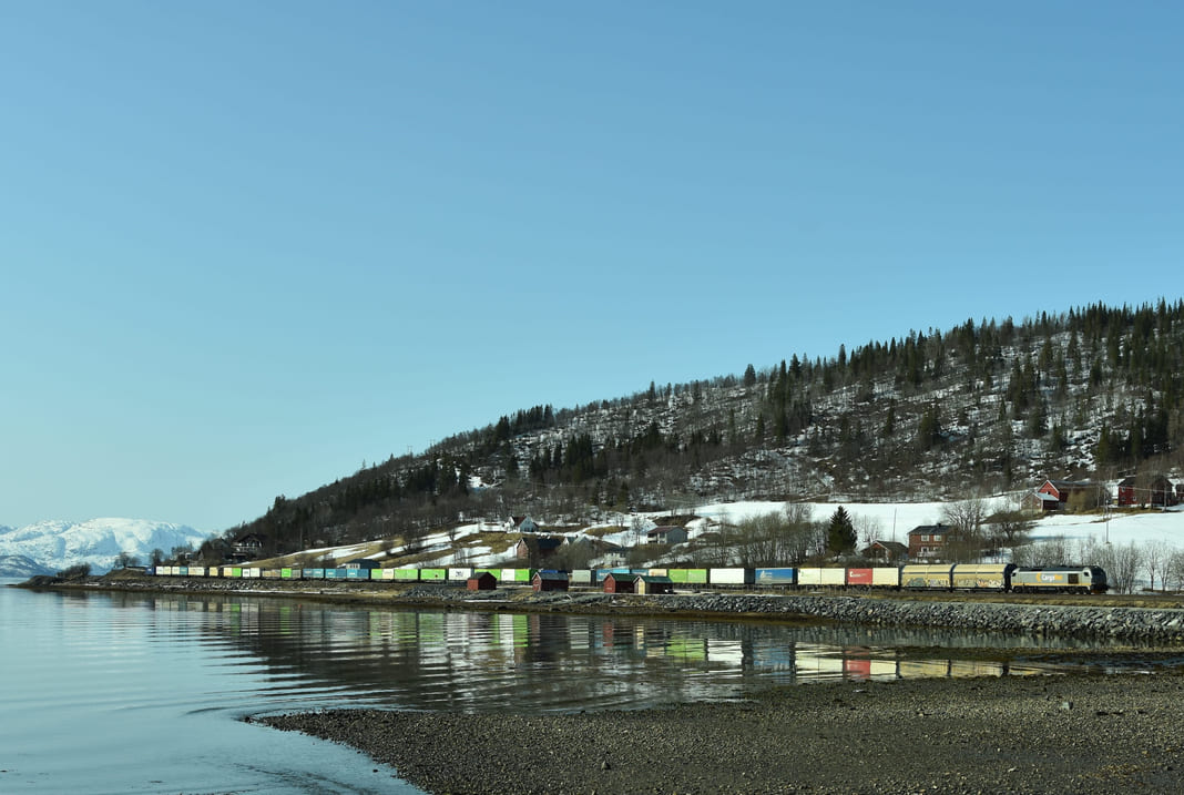 Laks fører til godsløft på Nordlandsbanen