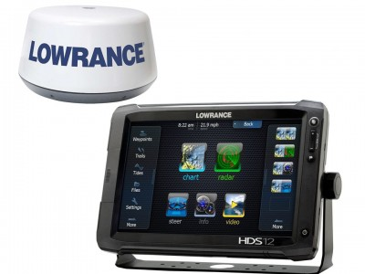 LOWRANCE HDS-12 TOUCH MED 3G